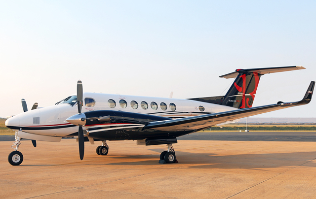 King Air 350 aircraft