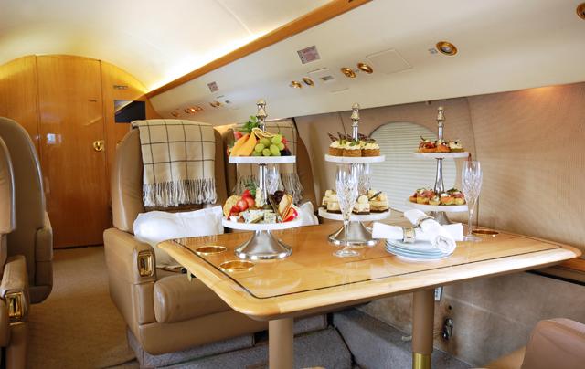 Gulfstream GIIB Interior